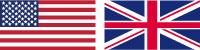 USA and England